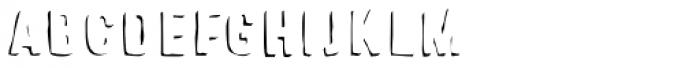 Sparhawk Shadow Font LOWERCASE