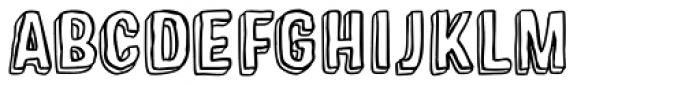 Sparhawk Font UPPERCASE