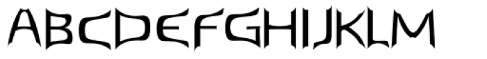 Spark Font UPPERCASE