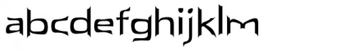 Spark Font LOWERCASE