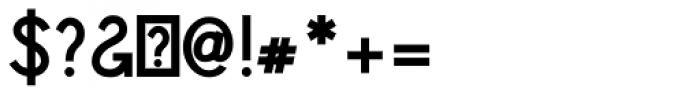 Sparkler Bold Font OTHER CHARS