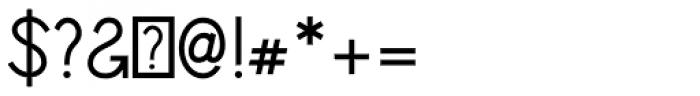 Sparkler Font OTHER CHARS