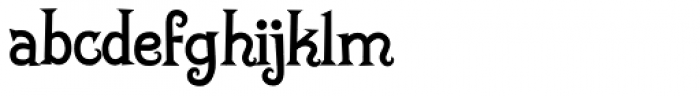 Sparky BV Font LOWERCASE