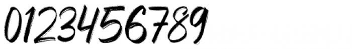 Sparose Reguler Font OTHER CHARS