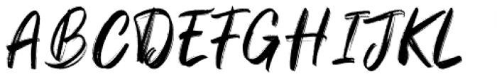 Sparose Reguler Font UPPERCASE