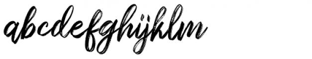 Sparose Reguler Font LOWERCASE