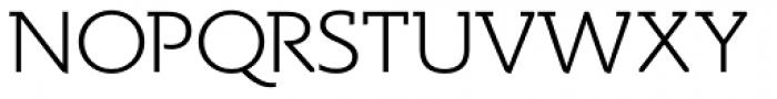 Spartacus Light Font UPPERCASE