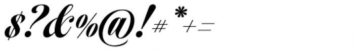 Speakeasy Script Font OTHER CHARS