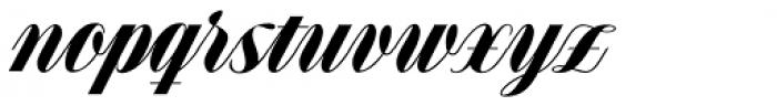 Speakeasy Script Font LOWERCASE