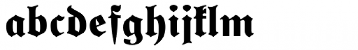 Special Alphabets P03 Font LOWERCASE