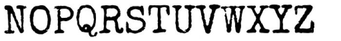 Special Elite Pro Font UPPERCASE