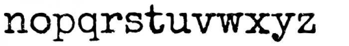 Special Elite Pro Font LOWERCASE