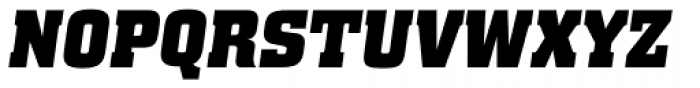 Special Forces Italic Font UPPERCASE