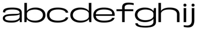 Specify Extra Expanded Medium Font LOWERCASE
