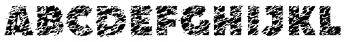 Speckle Color Full Font UPPERCASE