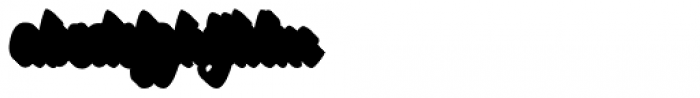 Specta Retro Script Extrude Font LOWERCASE