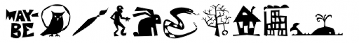 Speed Bump Pi Left Font UPPERCASE