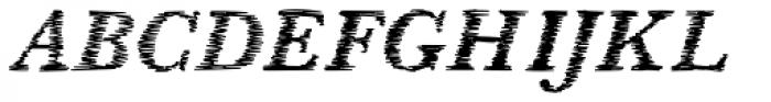 SpeedSketch Font UPPERCASE