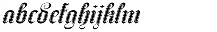 SpeedSwash Black Font LOWERCASE