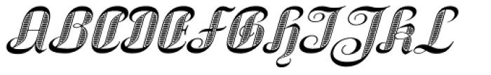 SpeedSwash Engraved Font UPPERCASE
