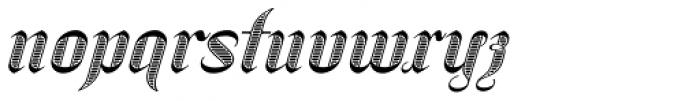 SpeedSwash Engraved Font LOWERCASE