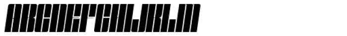 Speedometer 600 Italic Font UPPERCASE