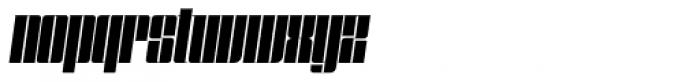 Speedometer 600 Italic Font LOWERCASE