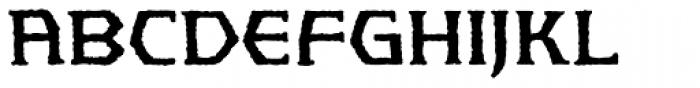 Spellbreaker BB Font UPPERCASE