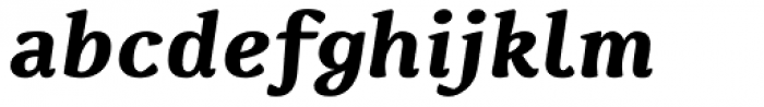 Spencer Bold Italic Font LOWERCASE
