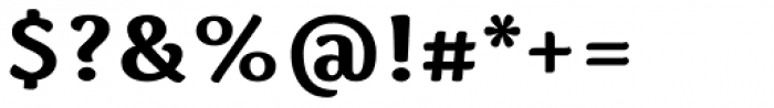 Spencer Bold Font OTHER CHARS