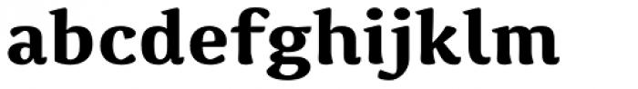 Spencer Bold Font LOWERCASE