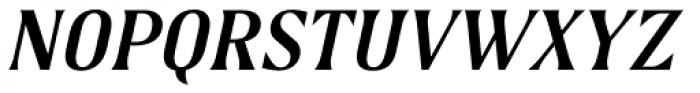 Spencer Samuels Italic Font UPPERCASE
