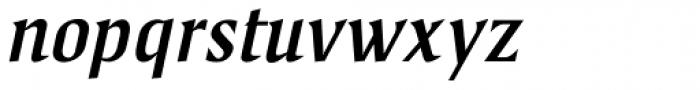 Spencer Samuels Italic Font LOWERCASE