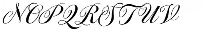 Spencerio Font UPPERCASE