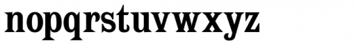 Spike Bold Font LOWERCASE