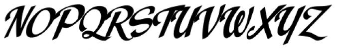 Spills Base Font UPPERCASE