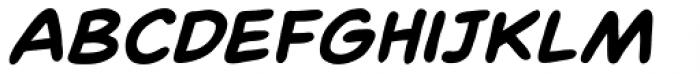 Spinner Rack BB Bold Italic Font LOWERCASE