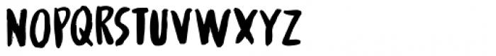 Spinwash Regular Font UPPERCASE