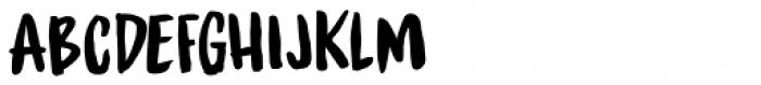 Spinwash Regular Font LOWERCASE