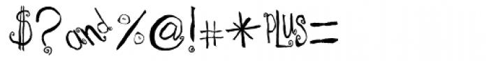 Spirals Font OTHER CHARS