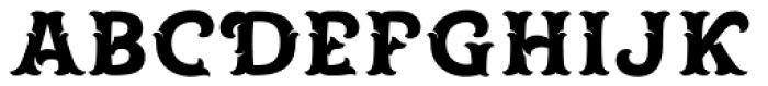 Spirit Board Base Font UPPERCASE
