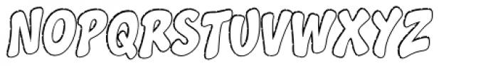 Splashdown Open Font UPPERCASE