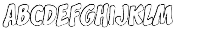 Splashdown Open Font LOWERCASE