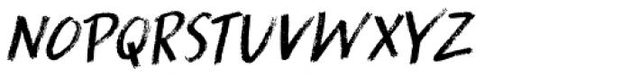 Splinterhand Italic Font UPPERCASE
