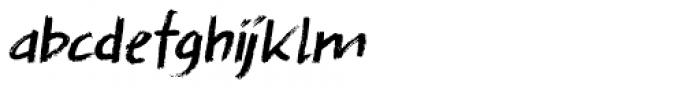 Splinterhand Italic Font LOWERCASE