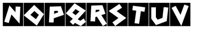 Spontan Initials Font UPPERCASE