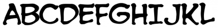 Spookytooth Font UPPERCASE