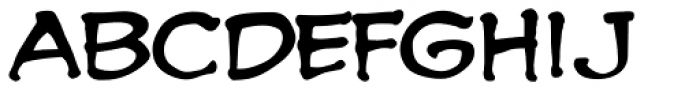 Spookytooth Font LOWERCASE