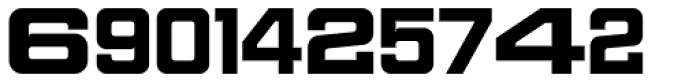 Sport Numbers Font LOWERCASE