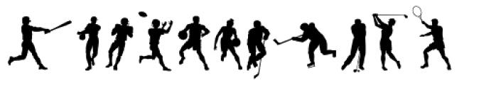 Sport Font UPPERCASE